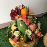 Lễ ăn hỏi 5 tráp truyền thống hoa quả 4
