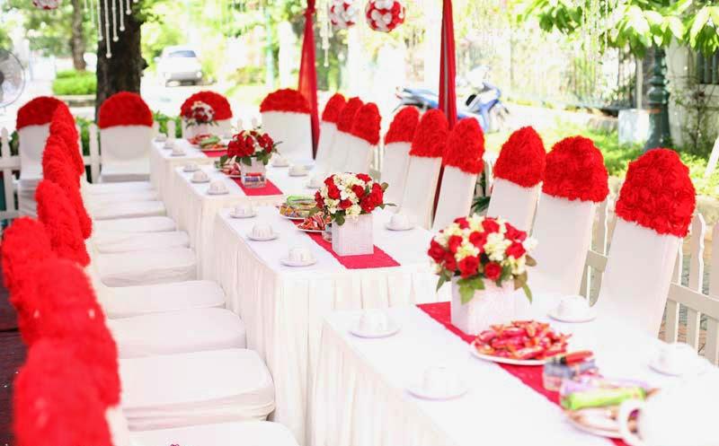 cho thuê bàn ghế cưới hỏi tại hà đông