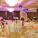 cho thuê nơ ghế đám cưới màu hồng
