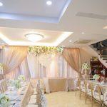 Trang trí tiệc cưới tại nhà Backdrop 11
