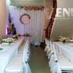 Trang trí tiệc cưới tại nhà Backdrop 12