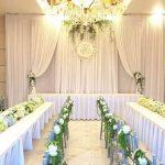 Trang trí tiệc cưới tại nhà Backdrop 13