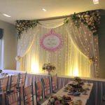 Trang trí tiệc cưới tại nhà Backdrop 16