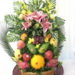 Lễ ăn hỏi 7 tráp truyền thống hoa quả 2