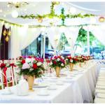 Dịch vụ trang trí tiệc cưới tại nhà