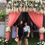 Trang trí tiệc cưới tại nhà mẫu cổng hoa 9