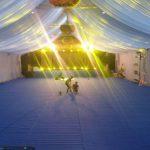 Trang trí tiệc cưới tại nhà khung rạp 10