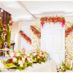 Trang trí tiệc cưới đẹp tại nhà