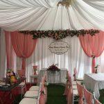Trang trí tiệc cưới tại nhà Backdrop 1