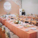 Trang trí tiệc cưới tại nhà Backdrop 7
