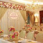 Trang trí tiệc cưới tại nhà Backdrop 9