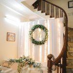 Trang trí tiệc cưới tại nhà Backdrop 5
