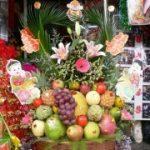 Lễ ăn hỏi 7 tráp truyền thống hoa quả
