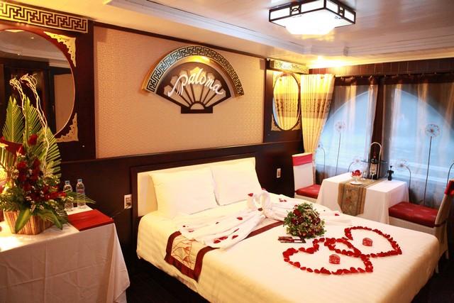 Kích thước giường cưới phù hợp với căn phòng