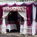 Cho thuê nhà bạt đám cưới màu tím