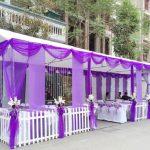 Cho thuê rạp đám cưới màu tím