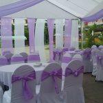 Cho thuê khung rạp đám cưới màu tím