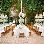 Trang trí tiệc cưới bằng hoa baby