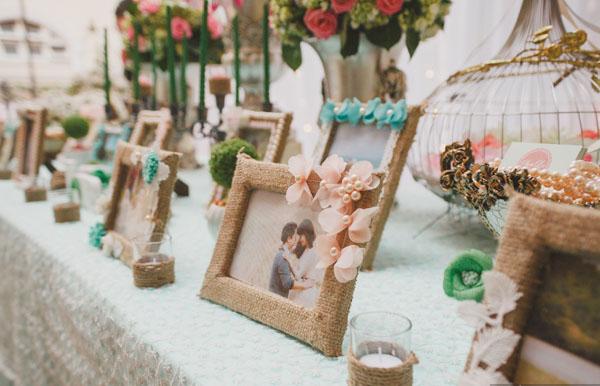 Tự trang trí tiệc cưới tại nhà ấn tượng