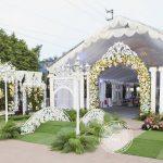 Tổng quan khung cảnh tiệc cưới