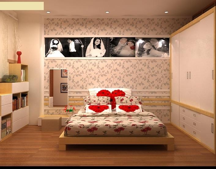 Lựa chọn nội thất trang trí phòng tân hôn