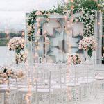 Backdrop wedding ngoài trời 2
