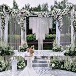 Backdrop wedding ngoài trời 5