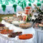 Tiệc buffet cưới ngoài trời 2