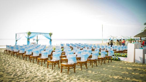 Bãi biển đẹp tổ chức tiệc cưới ngoài trời Phú Quốc