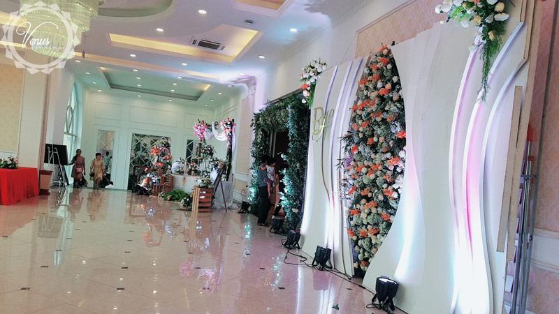 Cổng hoa đám cưới đẹp