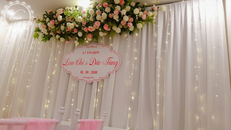 Phông đám cưới Lan Chi và Đức Tùng