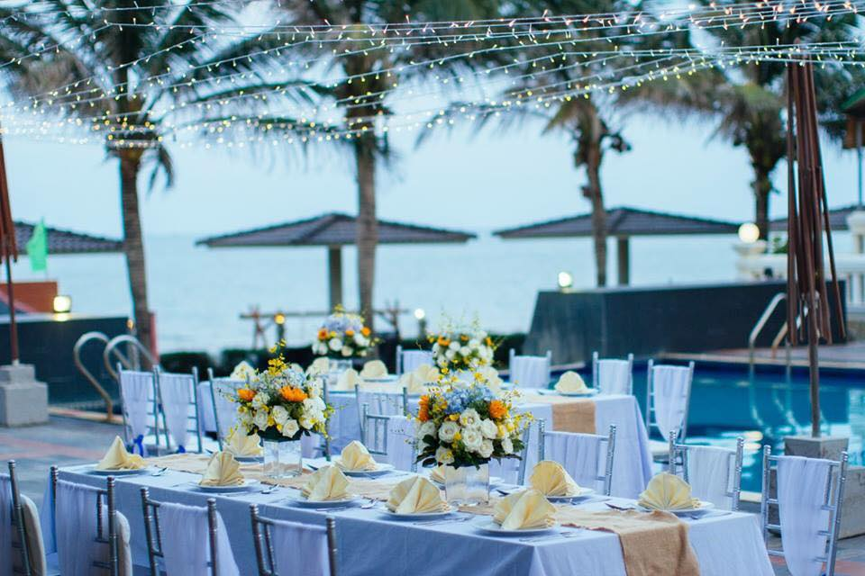 Phương án dự phòng khi tổ chức tiệc cưới ngoài trời