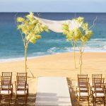 Cách trang trí khi tổ chức tiệc cưới ngoài trời trên biển