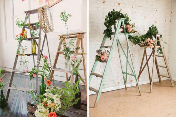 trang trí tiệc cưới handmade