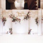 Mẫu backdrop đám cưới đẹp 5