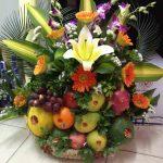 Tráp hoa quả ăn hỏi 1