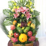 Tráp hoa quả ăn hỏi đẹp