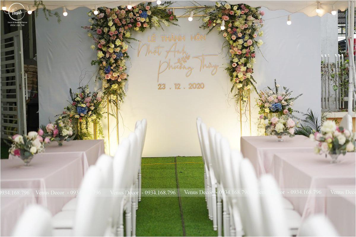 Trang trí cưới Nhật Anh & Phương Thùy
