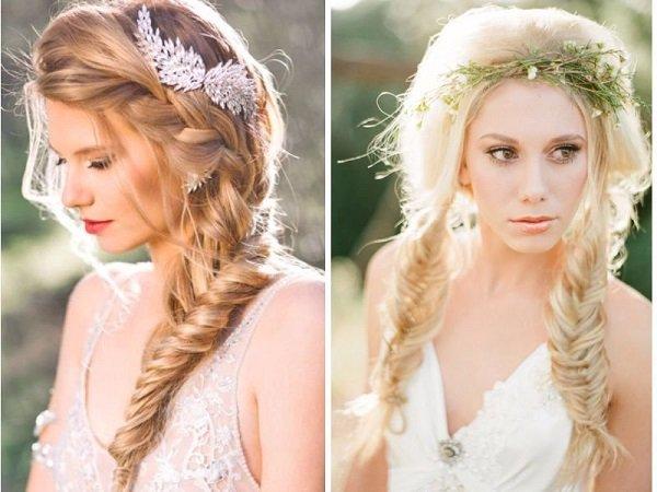 kiểu tóc cưới cho cô dâu mùa hè